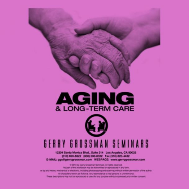 Aging and Long-Term Care CE Online Text-based Home Course (10 CE)