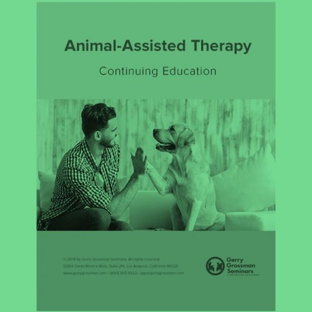 Animal-Assisted Therapy Online Text-based Home Course (3 CE)
