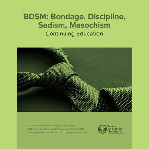 BDSM Online Text-based Home Course (3 CE)