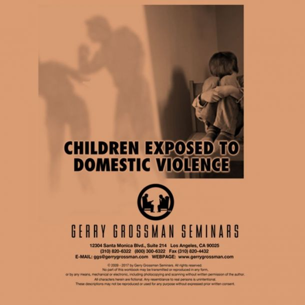 Children Exposed to Domestic Violence Online Text-based Home Course (4 CE)