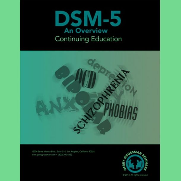 DSM-5 Online Text-based Home Course (6 CE)