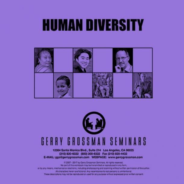 Human Diversity Online Text-based Home Course (3 CE)
