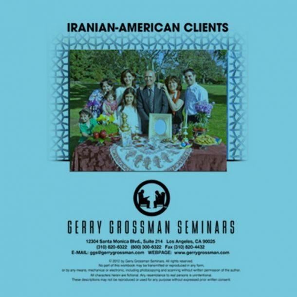 Iranian-American Clients Online Text-based Course (3 CE)