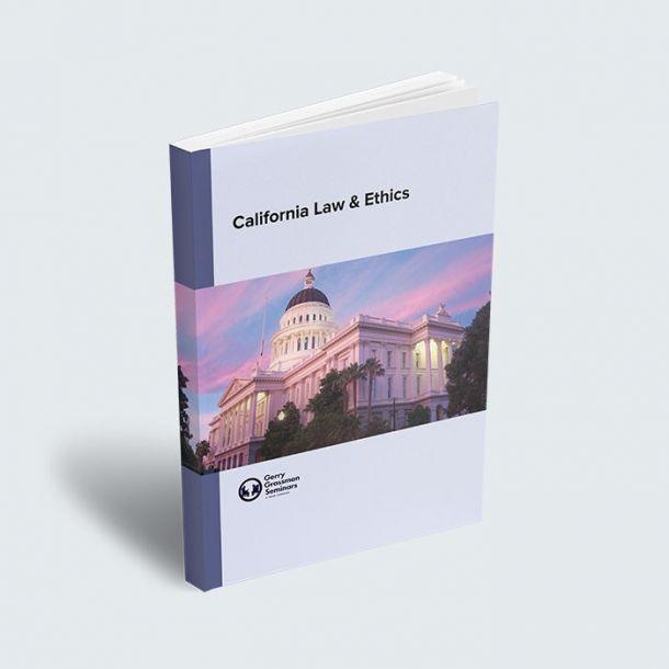 MFT California Law and Ethics Exam Textbook