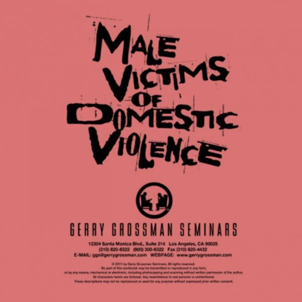 Male Victims of Domestic Violence Online Text-based Home Course (4 CE)