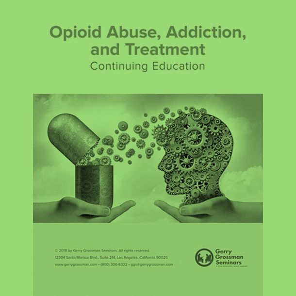 Opioid Abuse Online Text-based Home Course (4 CE)