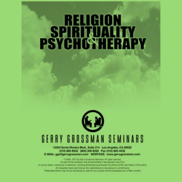 Religion, Spirituality and Psychotherapy Online Text-based Home Course (7 CE)