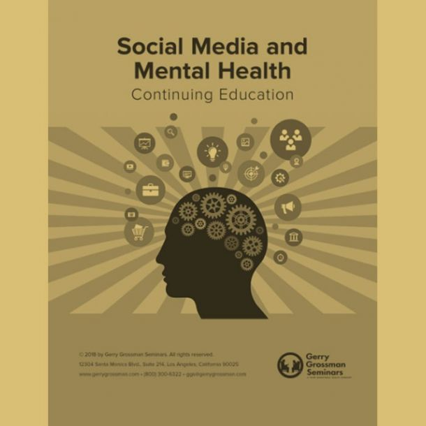 Social Media and Mental Health Online Text-based Home Course (3 CE)