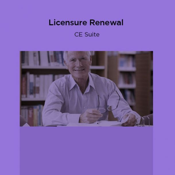18-Hour Licensure Renewal CE Suite Online Text-based Course (18 CE)