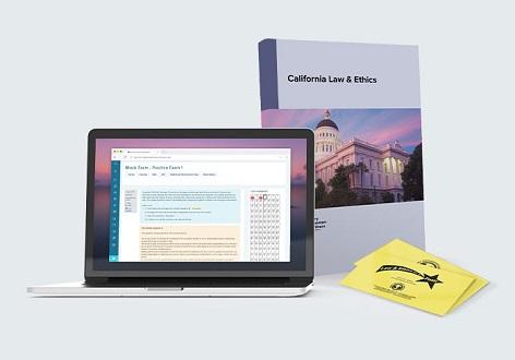 California Law and Ethics Exam Prep Self-Study Course